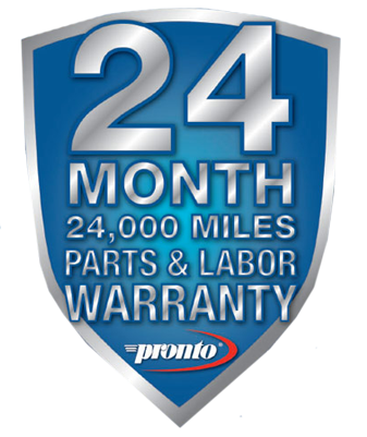 Pronto 24 Month Warranty